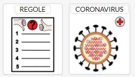 Regole contro il Coronavirus in disegni e in CAA